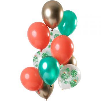 Strauß 12 Tropical Ballons