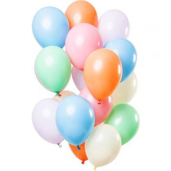 Strauß 12 Pastellballons