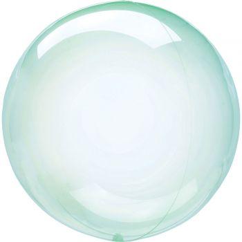 Luftballon bubble Grüne Kristall