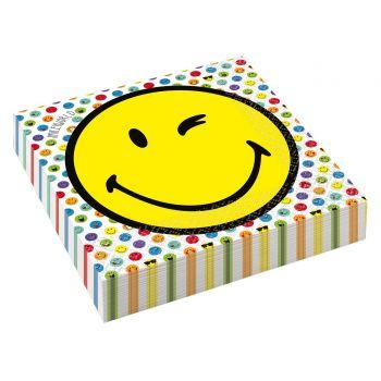 16 Papierservietten Smileyworld