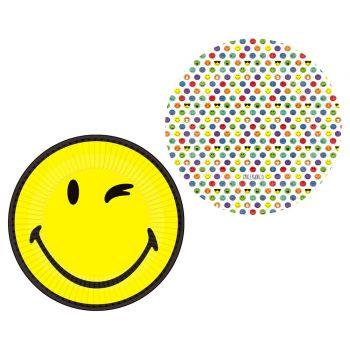 8 Smileyworld Karton Teller