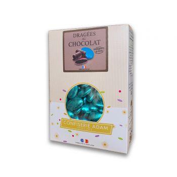 Dragees schokolade glänzend blue gold 500gr