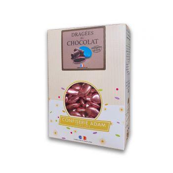 Dragees schokolade glänzend pink gold 500gr