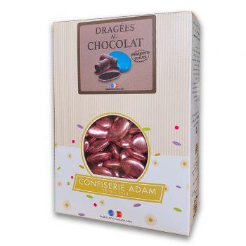 Dragees schokolade glänzend pink gold 1kg