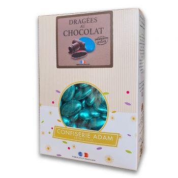 Dragees schokolade glänzend blau gold 1kg