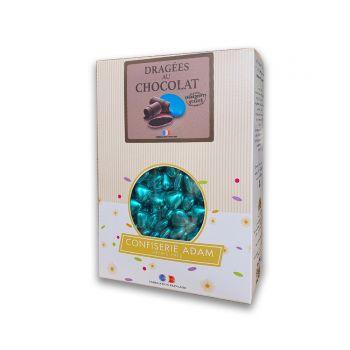 Dragees mini Herz Schokolade glänzend gold 500gr