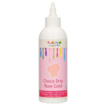 Choco Glasur drip Funcakes Rose gold