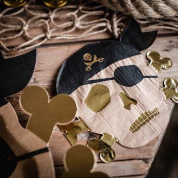 16 Kopftücher Piraten vergolden