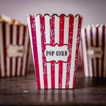 8 Schachteln Pop Corn circus vintage