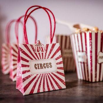 4 Mini Circus Vintage Beutel
