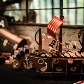 PiratenbootStänder 46cm