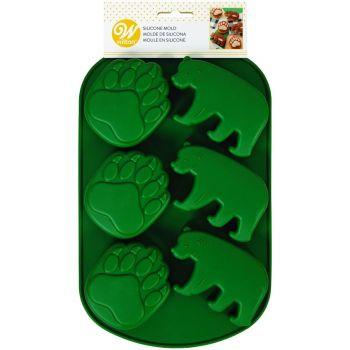 Silikon-Muschel Wald bären Wilton
