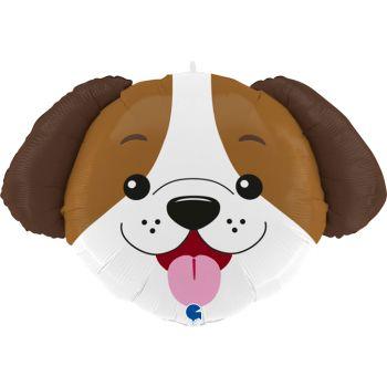 Helium Luftballon Kopf des Hundes