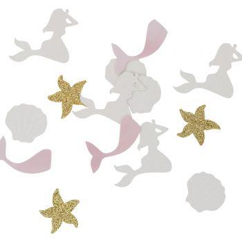 100 TischKonfetti Meerjungfrau glitzerte irisiert
