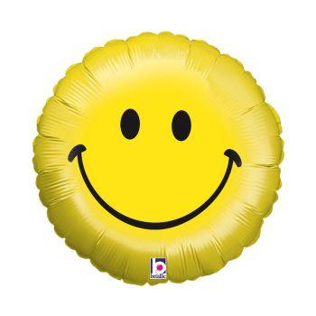 Ballon helium smiley lächeln