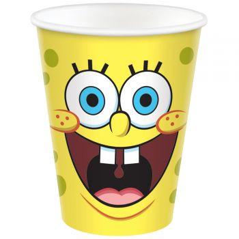 8 Becher SpongeBob
