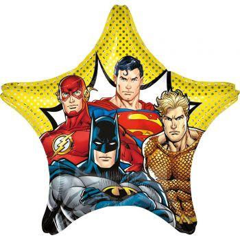 Riesiger Helium-Ballon Stern Justice League