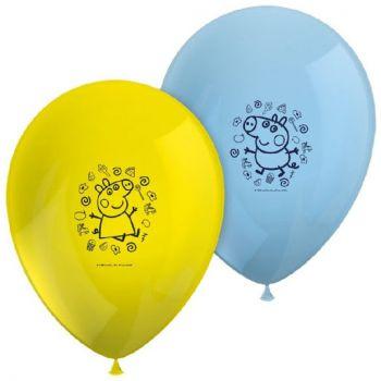 8 luftballon peppa wutz