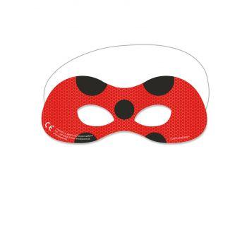 6 Masken Ladybug Miraculous