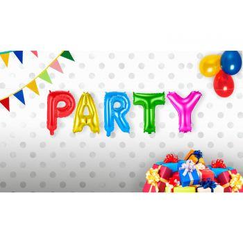 Bunte PARTY Ballons Girlande