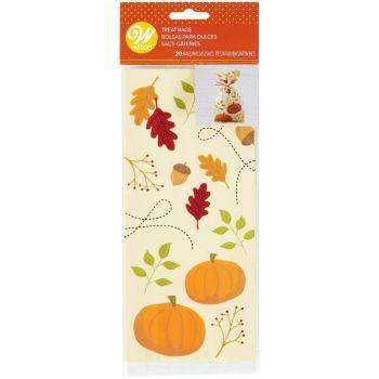 20 Süßigkeiten-Beutel Im Herbst Wilton