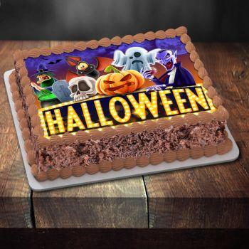 Dekor auf Zucker Halloween Party nacht A4
