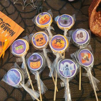 10 Schausteller-lollis Halloween Party