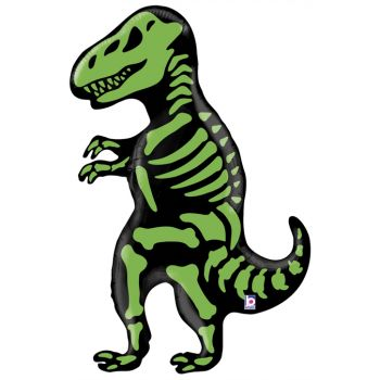 Helium-Ballon Skelett T-Rex