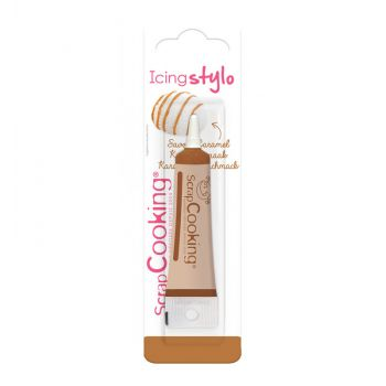 Caramel-Glasur- Scrapcooking