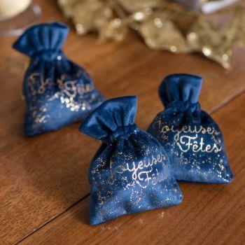 2 Pochon Milchstraße Fröhliche blaue Feiertage