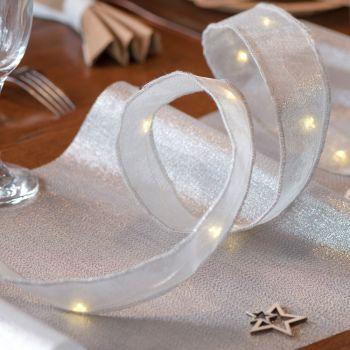 Lichtband Silber
