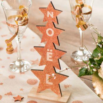 Dekor tanne Sterne Weihnachten Gold glitzerte
