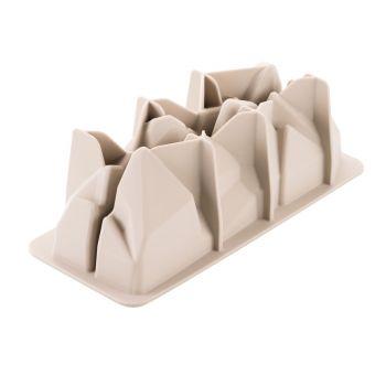 Artic 3D-Steinform aus Silikon