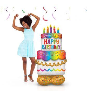 Riesiger Ballon zu legen Airloonz birthday cake
