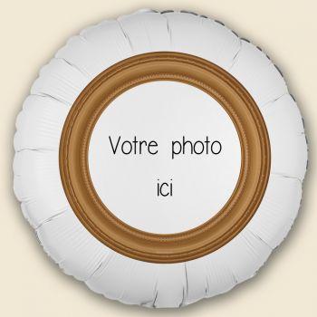Personalisierter Ballon Dekoration Rahmen Gold