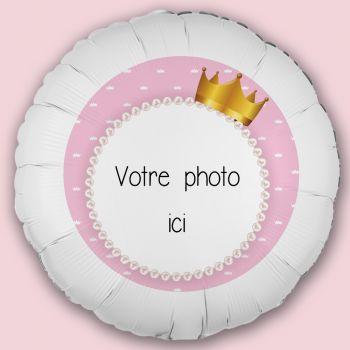 Personalisierte Luftballon Dekoration Princess Crown