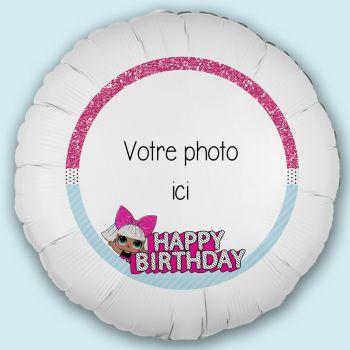 Personalisierte Luftballon Dekoration Lol Surprise
