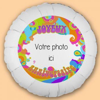 Personalisierte Ballon Dekoration Color Pop