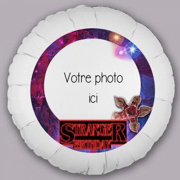 Personalisierte Ballon Dekor Stranger Birthday