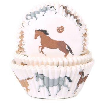 50 Pferde Cupcakes