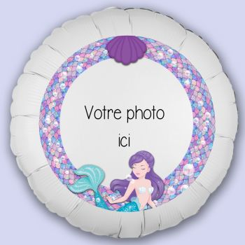 Individuelle Luftballon Dekoration Meerjungfrau