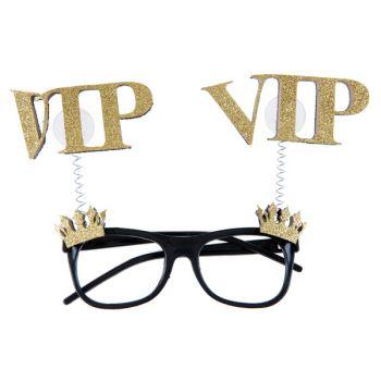 Glitzer Lünette gold VIP