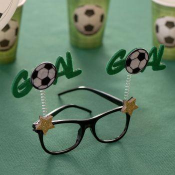Lünette fußball goal
