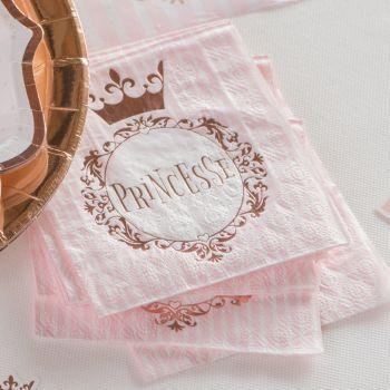 20 Servietten aus Prinzessin-Papier