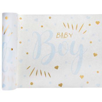 Tischpfad Baby Boy gold