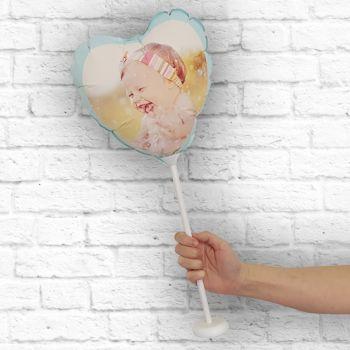 personalisierte luftballon Rahmen mint