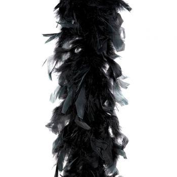 Boa Feder schwarz