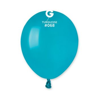 50 Türkis Ballons Ø13cm