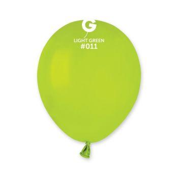 50 Ballons grün anis Ø13cm