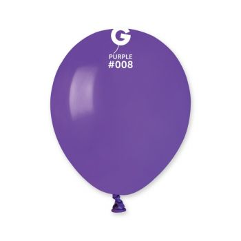 50 Lila Ballons Ø13cm